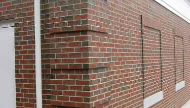Buildings homes for Brick quoin detail